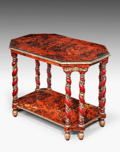 Mid-18th Century Tortoiseshell Centre Table.