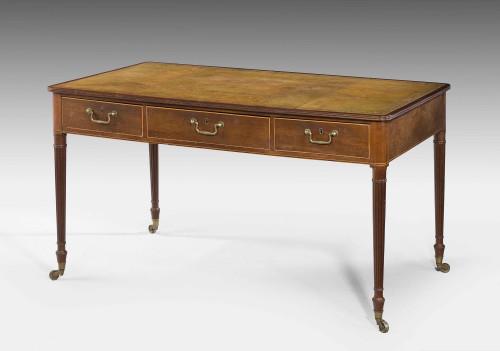 George III Period Mahogany Writing Table