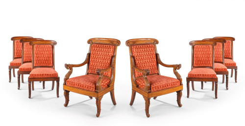 A Fine Set of Eight William IV Period Chairs
