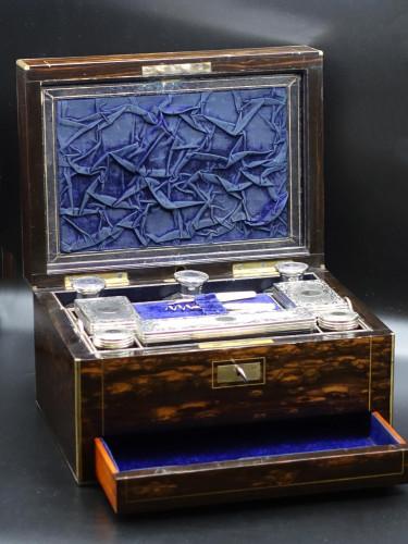 A Fine and Rare Mid 19th Century Macassar Ebony Box.
