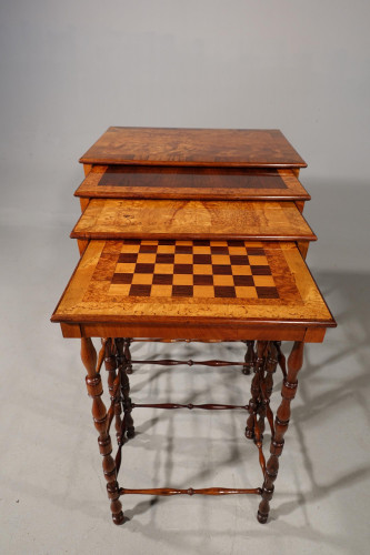 An Exceptionally Fine Quartetto of Tables by Gillows of Lancaster