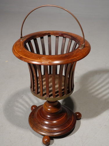 A Mid 19th Century Mahogany Dutch Brazier