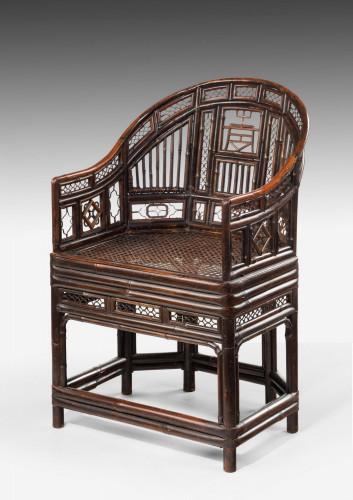 Regency Period Pavilion Cane Armchair