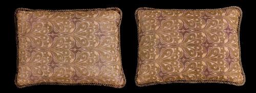 Cushions: Late 19th Century, Silk. Ottoman
