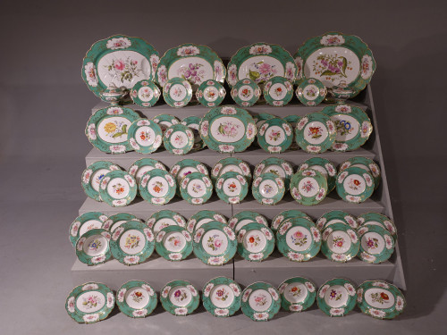 A Very Fine Early 19th Century Ridgway 61 Piece Part Dinner Service