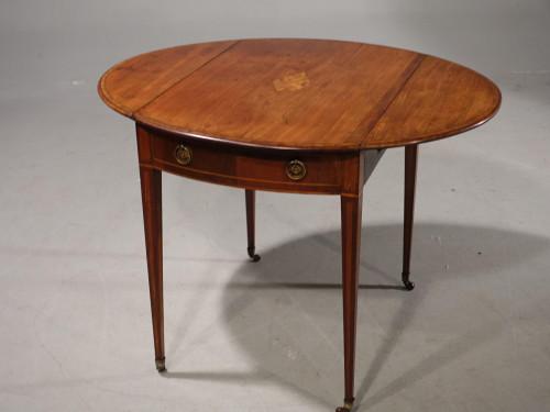 A Most Attractive George III Period Mahogany Pembroke Table