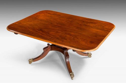 Regency Period Mahogany Breakfast Table