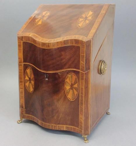 19th Century Inlaid Knife Box