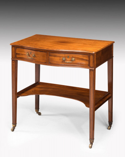 George III Period Mahogany Side Table of Very Small Proportions