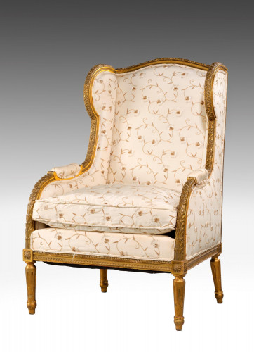 Late 19th Century Giltwood Chair