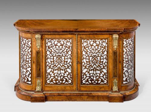 Mid 19th Century Walnut Cabinet