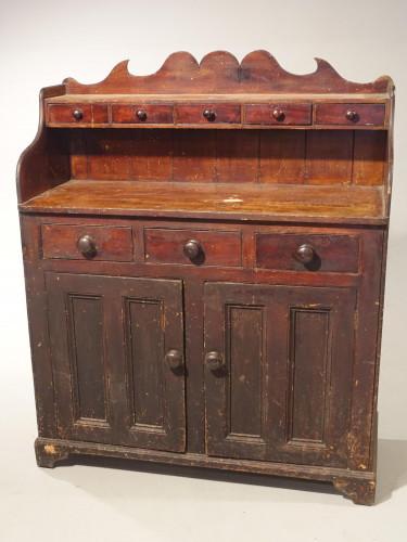 A Mid 19th Century Scottish Pine Dresser