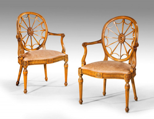 Pair of 18th Century Style Armchairs