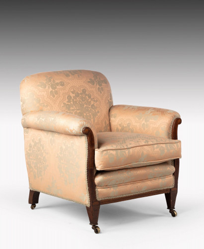 An Early 20th Century Regency Style Library Armchair