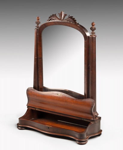 An Attractive and Original 19th Century Toilet Mirror