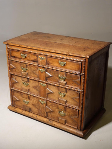A Late 17th Century Walnut Chest of Drawers