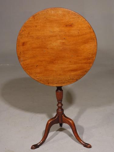 An Attractive George III Period Mahogany Tilt Table