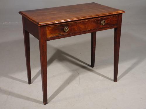 A George III Period Mahogany Side Table