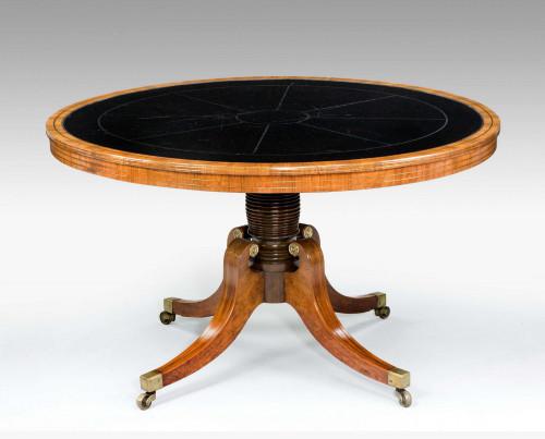 Regency Period Kingwood Centre Table
