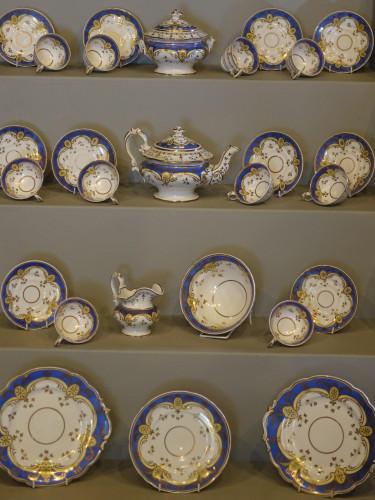 A Mid 19th Century 28 Piece Ridgeway Tea and Coffee Service