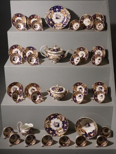 A Beautifully Decorated Mid 19th Century Tea and Coffee Service