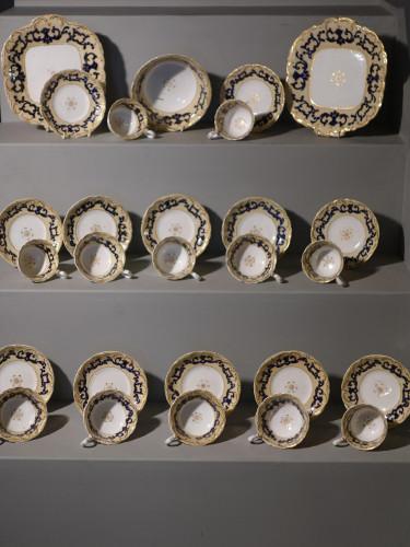 A Mid 19th Century English Porcelain Tea Service