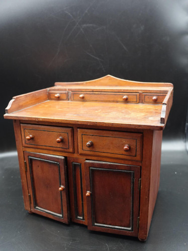 A Well Made Victorian Apprentice Cabinet