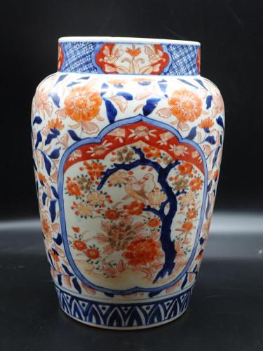 A Good Early 20th Century Imari Porcelain Jar.