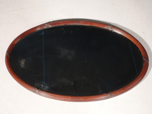 A Good Early 20th Century Mahogany Framed Mirror