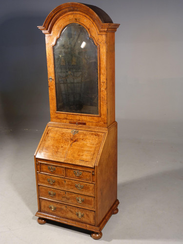 A Small Early 20th Century Queen Anne Style Cabinet