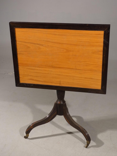 A Most Unusual Early 19th Century Ceylonese Satinwood Occasional Table