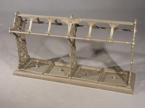 A Huge Late 19th Century Country House Cast Iron Stick Stand