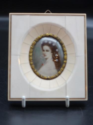 A Mid 20th Century Miniature of Kaiserin Elisabeth Von Österreich