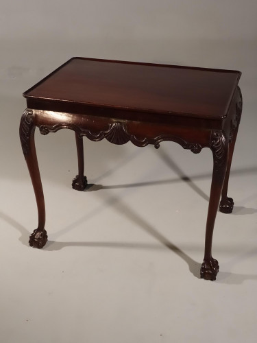 A Fine Mid 18th Century Well Carved Silver Table