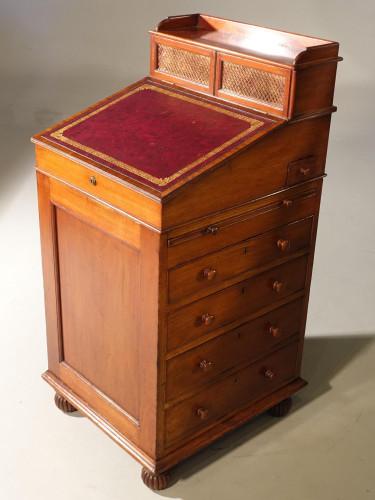 A Fine Mid 19th Century Mahogany Davenport