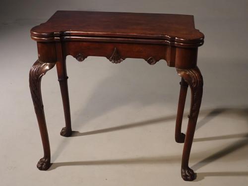 A Good Mid 18th Century Mahogany Card Table