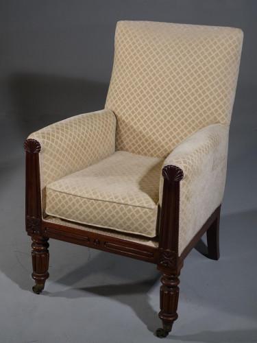 A Very Good Quality Regency Period Armchair