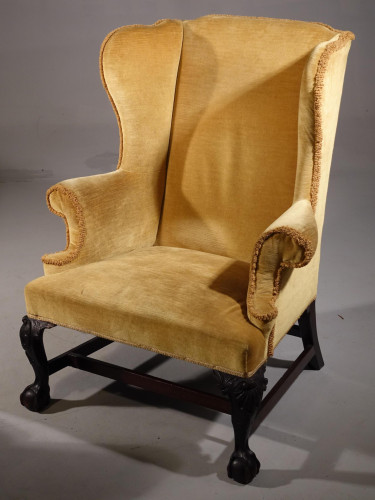 An Early 20th Century Shapely and Well Formed Wing Chair