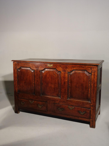 A Mid 18th Century Oak Dower Chest