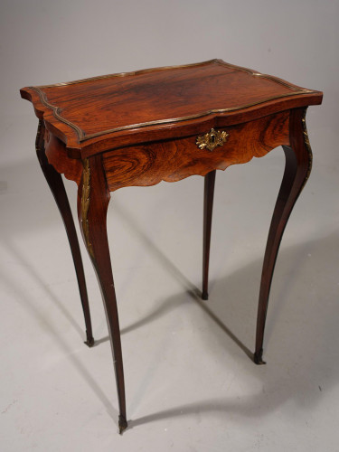 A Shapely Late 19th Century Rosewood Gueridon