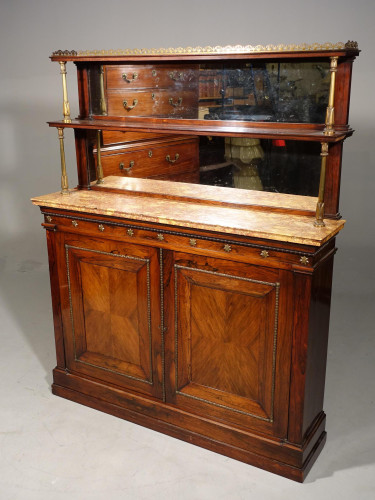 A Fine Quality and Unusual Early 19th Century Rosewood Side Cabinet
