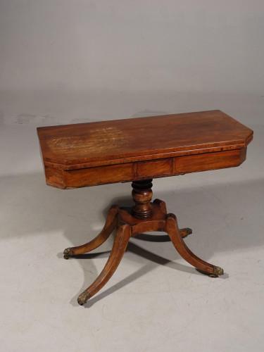 A Regency Period Mahogany Card Table