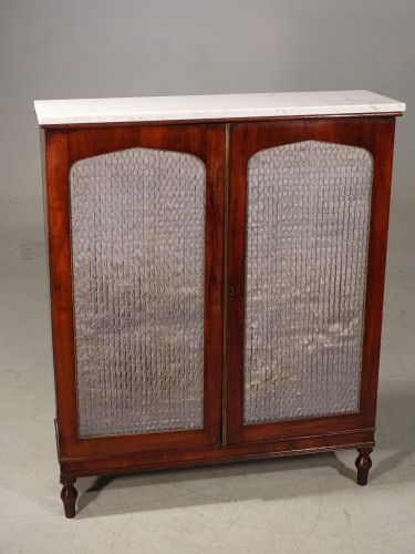 A Regency Period Mahogany Side Cabinet of Simple Form