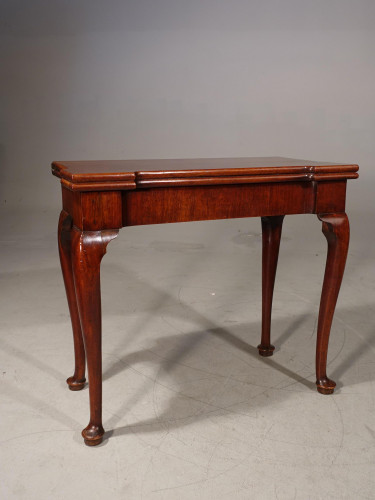 A George II Period Mahogany Games or Card Table