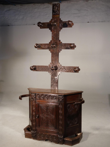 A Remarkable Mid 19th Century Hat and Hall Stand