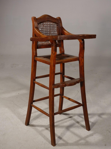 An Unusual Early 20th Century Child's High Chair