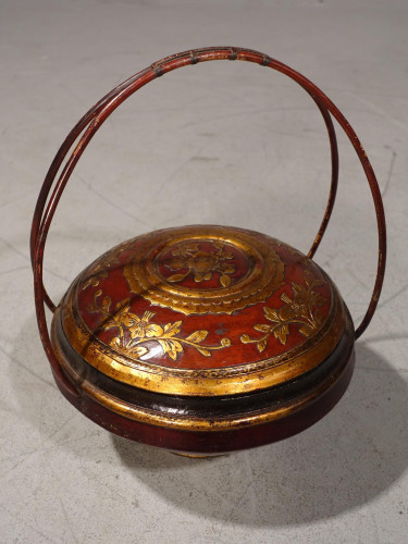 An Early 20th Century Domed Topped Food Basket