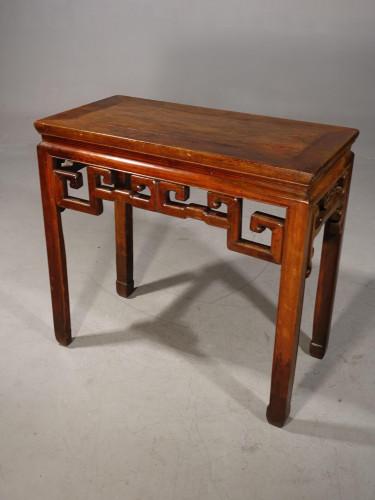 An Early 20th Century Oriental Half-Table