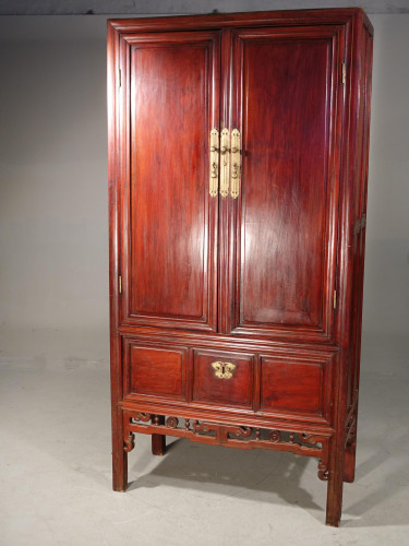 A Particularly Good Late 19th Century Southern Chinese Wedding Cabinet