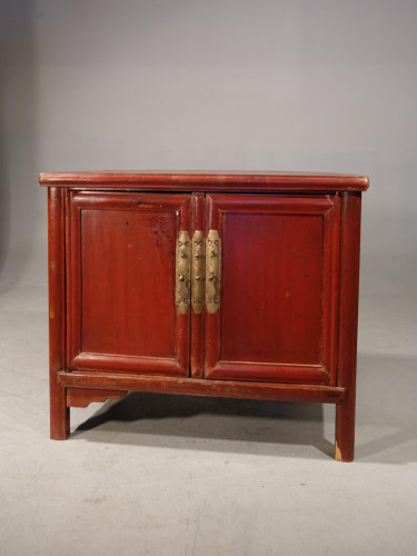 A Late 19th Century Chinese Dwarf Cabinet